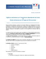 Arrêté Préfectoral Sécheresse 2018 2